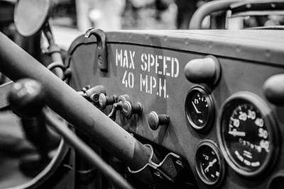 Willys Jeep Dashboard Original by Marco Oliveira