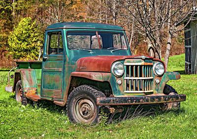 Kitchen Mark Rogan - Willys Jeep Pickup Truck 2 by Steve Harrington