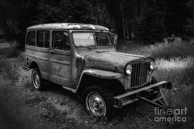 Photograph - Willys Jeep Station Wagon by Bitter Buffalo Photography
