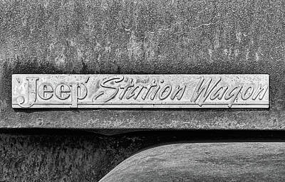 Photograph - Willys Jeep Station Wagon by JC Findley