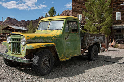 Photograph - Willys Jeep Truck  by Kristia Adams