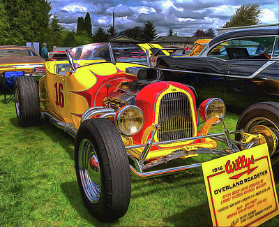 Photograph - Willys Overland Roadster by Thom Zehrfeld