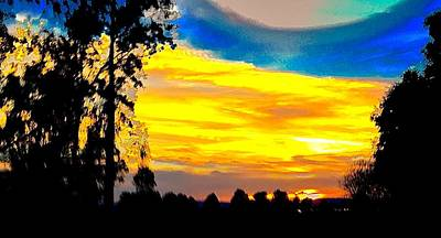 Mars Lasar Photograph - Willy's Sunset by Cadence Spalding