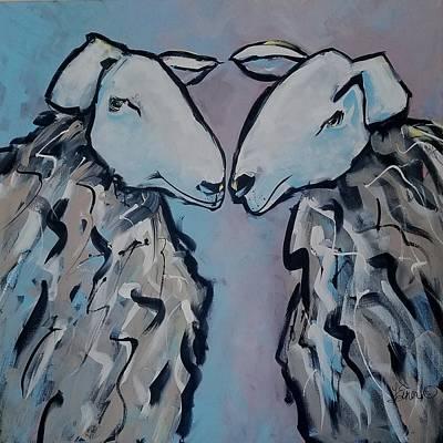 Painting - Wilma And Wanda by Terri Einer