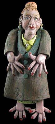 Sculpture - Wilma by Judy  Hensley