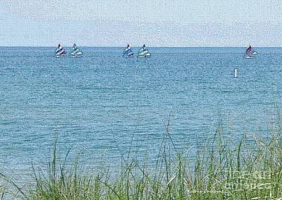 Photograph - Wilmette Beach by Kathie Chicoine