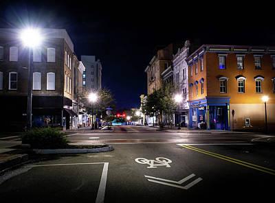 Photograph - Wilmington Bike Lane by Greg Mimbs