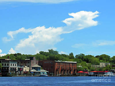 Photograph - Wilmington Riverwalk From The Sea by Roberta Byram