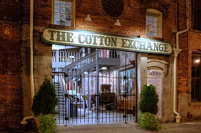 Photograph - Wilmington's Historic Cotton Exchange Building by Greg Mimbs