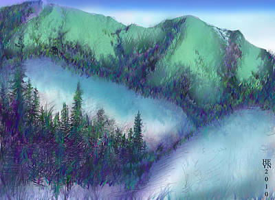 Wilmore Wilderness Area Art Print by Shirley Heyn