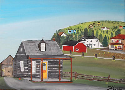 It Polish Painting - Wilno Heritage Park by Sheila Powers