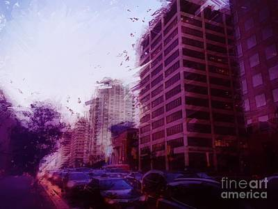Photograph - Wilshire Boulevard by Jenny Revitz Soper