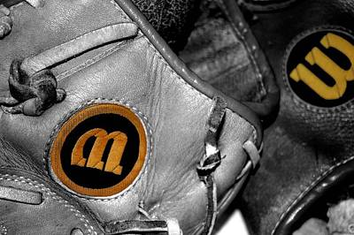 Baseball Glove Photograph - Wilson 2 by Jame Hayes