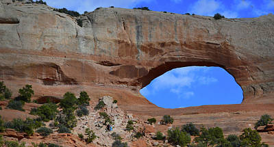 Photograph - Wilson Arch - Arches National Park by Nadalyn Larsen
