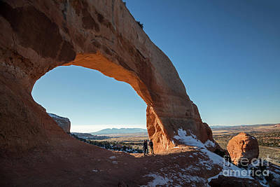 Photograph - Wilson Arch by Jim West