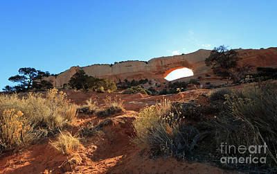 Photograph - Wilson Arch by Mary Haber