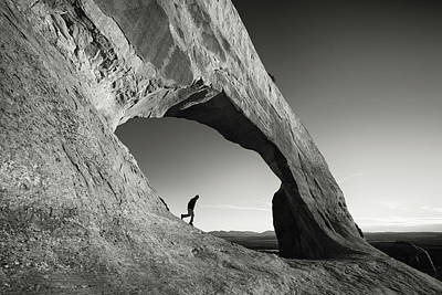 Photograph - Wilson Arch by Whit Richardson