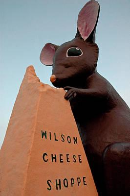 Mice Photograph - Wilson Cheese Shoppe Michigan by LeeAnn McLaneGoetz McLaneGoetzStudioLLCcom