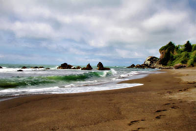 Photograph - Wilson Creek Beach by Lana Trussell