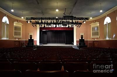 James Madison University Photograph - Wilson Hall Auditorium by Ben Schumin