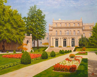 Wilson Hall Monmouth University Art Print