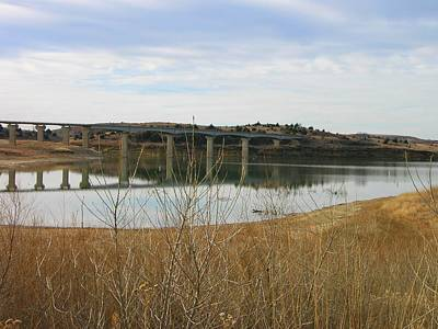Photograph - Wilson Lake Hell Creek Bridge by Keith Stokes