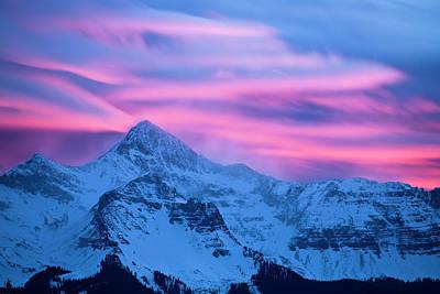 Photograph - Wilson Peak 2 by Whit Richardson