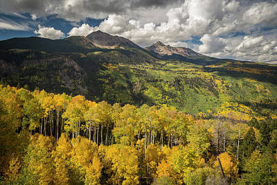 Photograph - Wilson Peak 3 by Whit Richardson