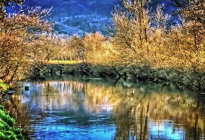 Photograph - Wilson River At Dawn by Thom Zehrfeld