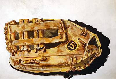 Baseball Painting - Wilson Staff Pro by Jame Hayes