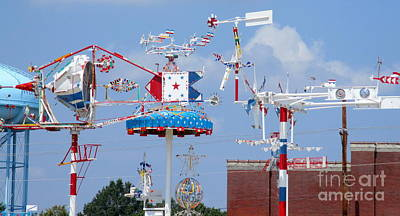 Photograph - Wilson Whirligig 14 by Randall Weidner
