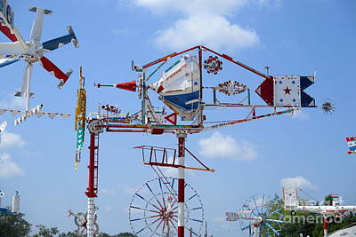 Photograph - Wilson Whirligig 3 by Randall Weidner