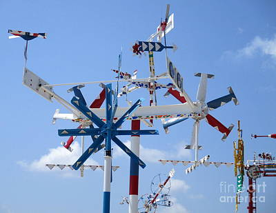 Photograph - Wilson Whirligig 4 by Randall Weidner