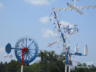 Photograph - Wilson Whirligig 5 by Randall Weidner