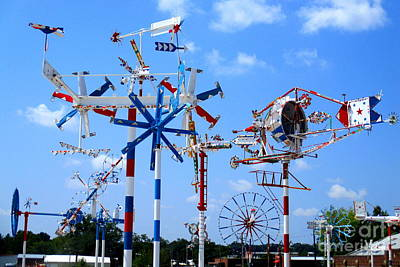 Photograph - Wilson Whirligig 7 by Randall Weidner