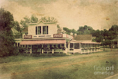 Wilson's Restaurant And Ice Cream Parlor Art Print