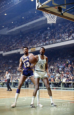 Basketball Photograph - Wilt Chamberlain (1936-1999) by Granger