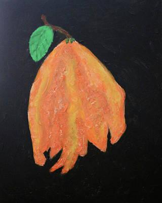 Painting - Wilting Hibiscus by Deborah Boyd