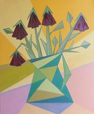 Painting - Wilted Roses by Tamara Savchenko