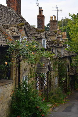 Photograph - Winchcombe Cottages by Carla Parris