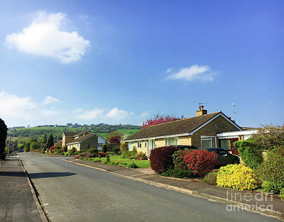 Photograph - Winchcombe Homes by Tom Gowanlock