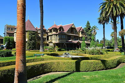 Photograph - Winchester Mystery House by Glenn McCarthy Art and Photography