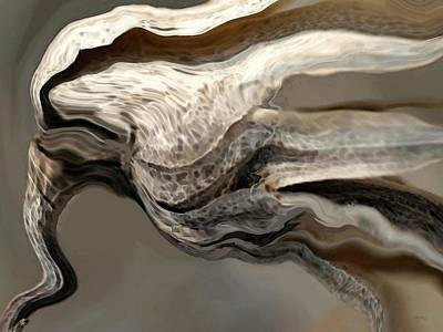 Muted Drawing - Wind by Amanda Schambon
