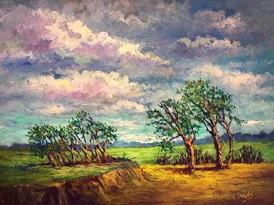 Painting - Wind And Sunlight by Randol Burns