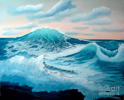 Wind And Surf II Art Print by Tobi Czumak