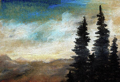 Painting - Wind At High Elevation by R Kyllo