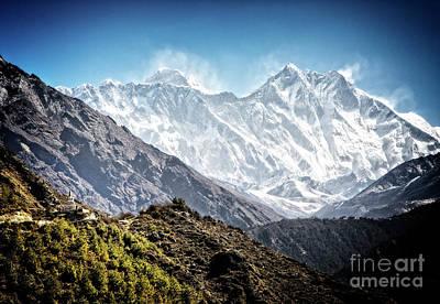 Photograph - Wind Blown Peaks by Scott Kemper