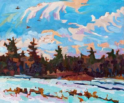 Wind Chill Original by Phil Chadwick