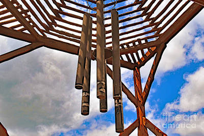 Photograph - Wind Chime by Ray Shrewsberry