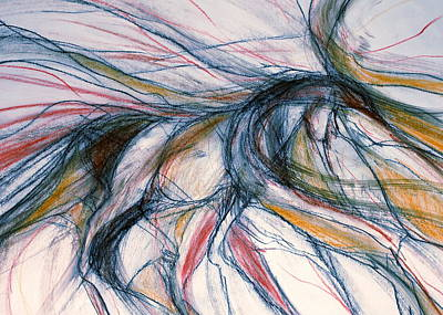 Sporthorse Mixed Media - Wind Dancer by Jennifer Fosgate